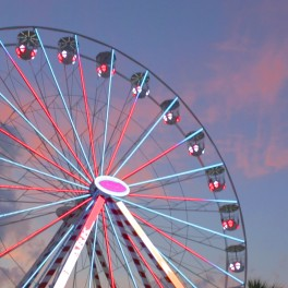 Ferris Wheel at Pavilion Park West at Broadway in Myrtle Beach, SC