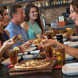 Friends, Pizza and Good Times at American Tap House Broadway at the Beach