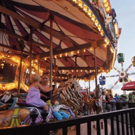 Pavilion Park rides for kids at Broadway in Myrtle Beach